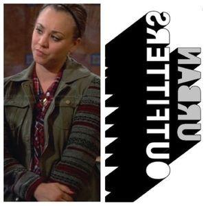 Worn on TV! Penny Big Bang Theory Utility Jacket